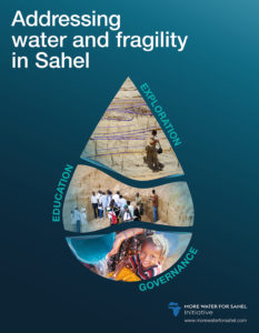 Affiche Water and Fragility in Sahel